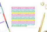 QT17 - NSFW Sassy Cancelled Stickers - Pastel