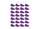 SP17 - Cheer Stickers - YOUR CHOICE COLOR