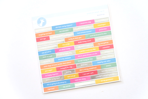 Freckled Fawn Phrase Stickers