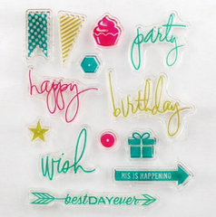 Celebration Clear Stamp Set