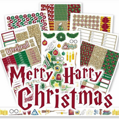 WK36 - MERRY HARRY CHRISTMAS - SINGLE SHEETS