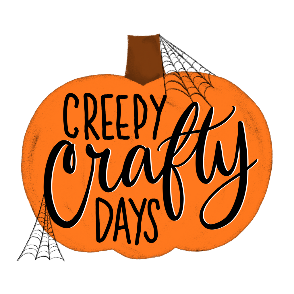 Creepy Crafty Days Sticker
