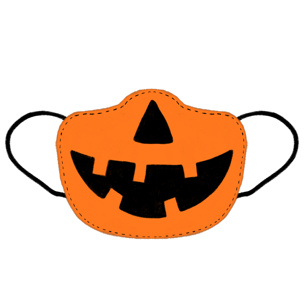 Jack-o-Mask Sticker