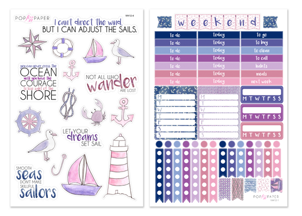 WK12 - Harbor Dreams - SINGLE SHEETS