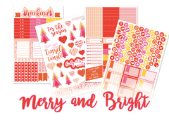 WK28 - Merry and Bright - SINGLE SHEETS