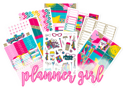 WK42 - Planner Girl Weekly Set - SINGLE SHEETS