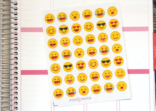 EM01 - Emoji Faces Stickers