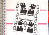 EN05 - Large Video Camera Stickers