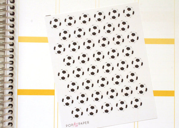 SP07 - Soccer Ball Stickers