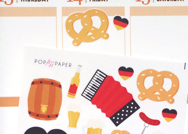 HO05 - Oktoberfest Favorites Stickers