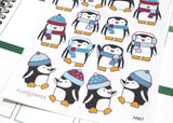AN07 - Cute Penguin Stickers