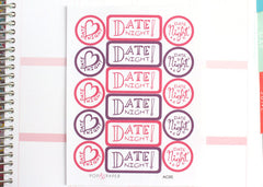 AC05 - Date Night Stickers