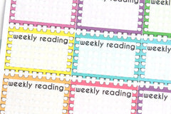 RE04 - What I'm Reading Stickers