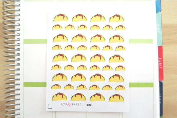 FD12 - Taco Tuesday Stickers