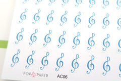 AC06 - Music Stickers