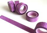 Glitter Purple Washi
