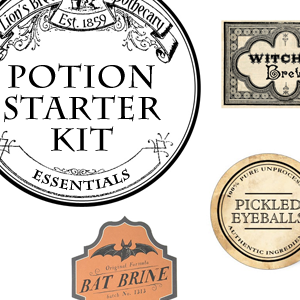 Printable Potion Labels