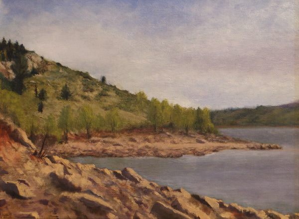 Aloria Weaver - Summer at Horsetooth Reservoir