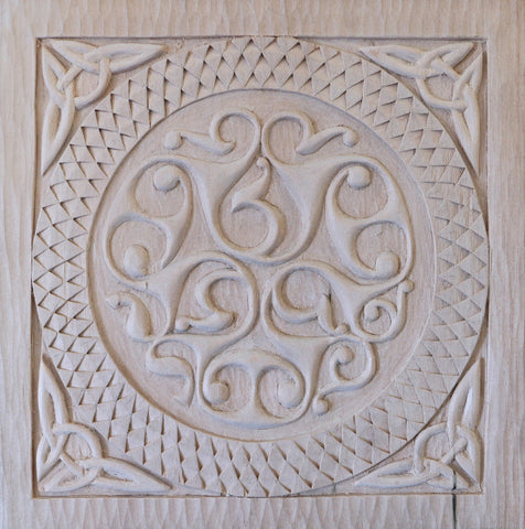 Celtic Relief Carving