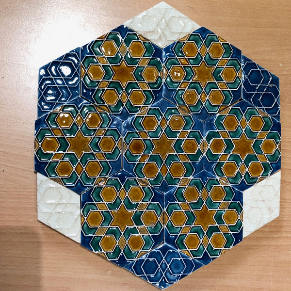 II. Hexagonal Ceramic Tiles