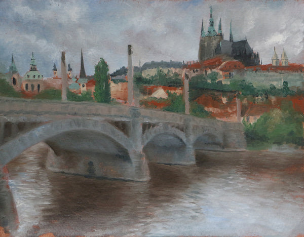 A. Weaver & D. Heskin - Prague Castle & Josef Mánes Bridge, Prague