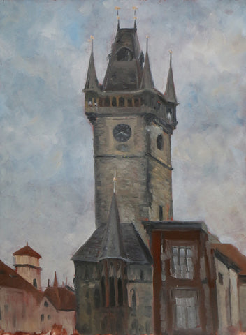 A. Weaver & D. Heskin - Old Town Hall Clock Tower, Prague