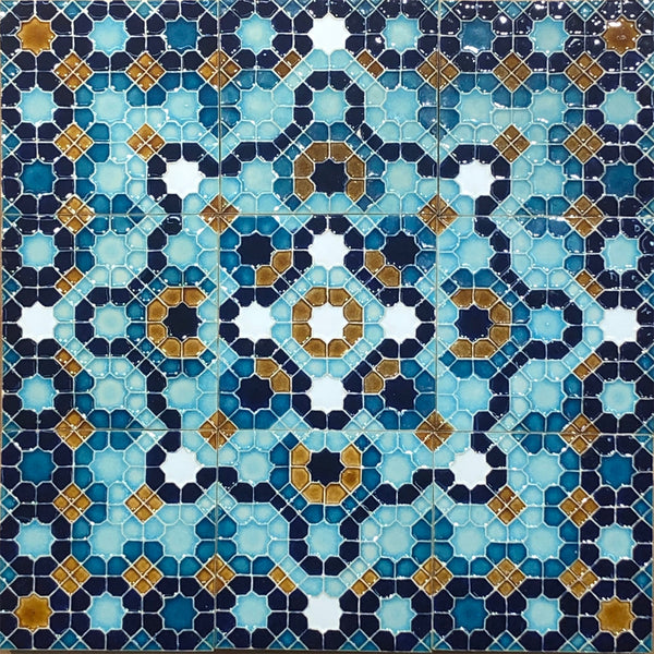 I. Geometric Ceramic Tiles - Multiple Designs