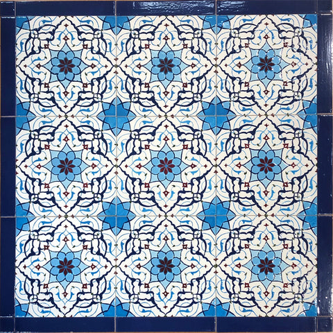 Iznik-inspired Ceramic Tiles - Multiple Designs