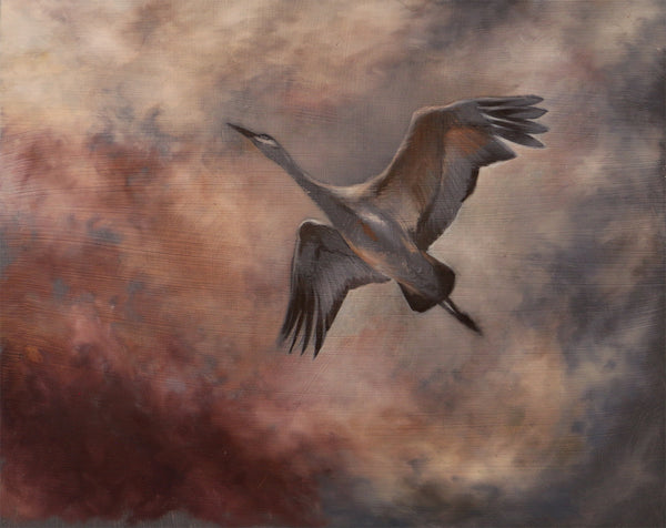 D. Heskin & A. Weaver - Flight #1 - Demo Painting