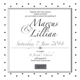 Effortless Chic | Diamonds |   Wedding Invitation: Evite