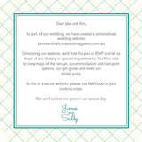 Lusciously Minty | Crosshatch |   Wedding Invitation: Printed