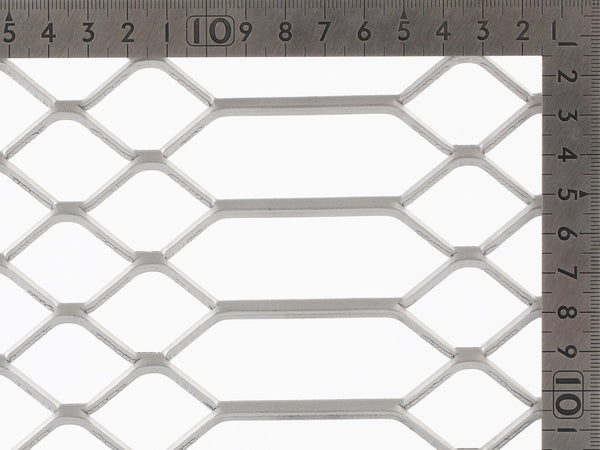 trussforte expanded mesh, Aluminium Mesh, security screens, balustrading, trellis work mesh