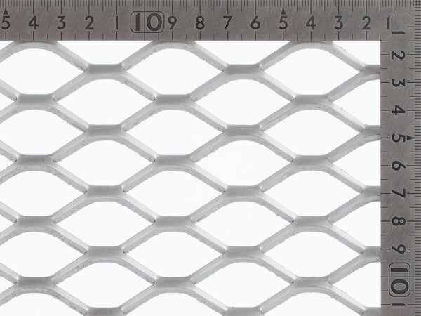 expanded mesh TrussForte Steel sheet, security screens, balustrading, trellis mesh, prison mesh