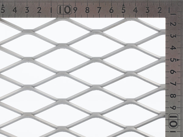 TrussForte expanded mesh Steel Mesh sheets. Aluminium Mesh, gutter mesh, security screen mesh, balustrading mesh, trellis work mesh, animal cages mesh, tree guard mesh, ventilating panel mesh, magazine rack mesh