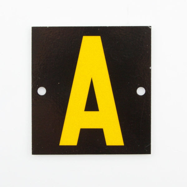 letter plates, letter box numbers, letter box letters, factory number signs, commercial signage