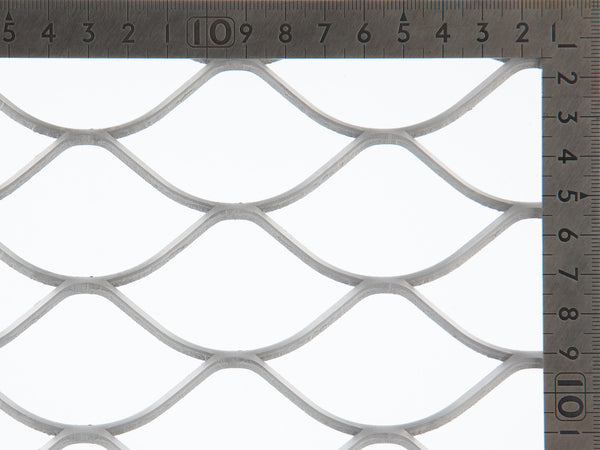 TrussForte ORNAMESH expanded mesh, black mild mesh, gutter mesh, security screen mesh