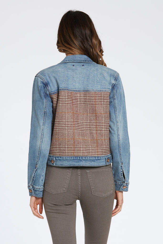 BILLY DENIM JACKET IN LANDMARK