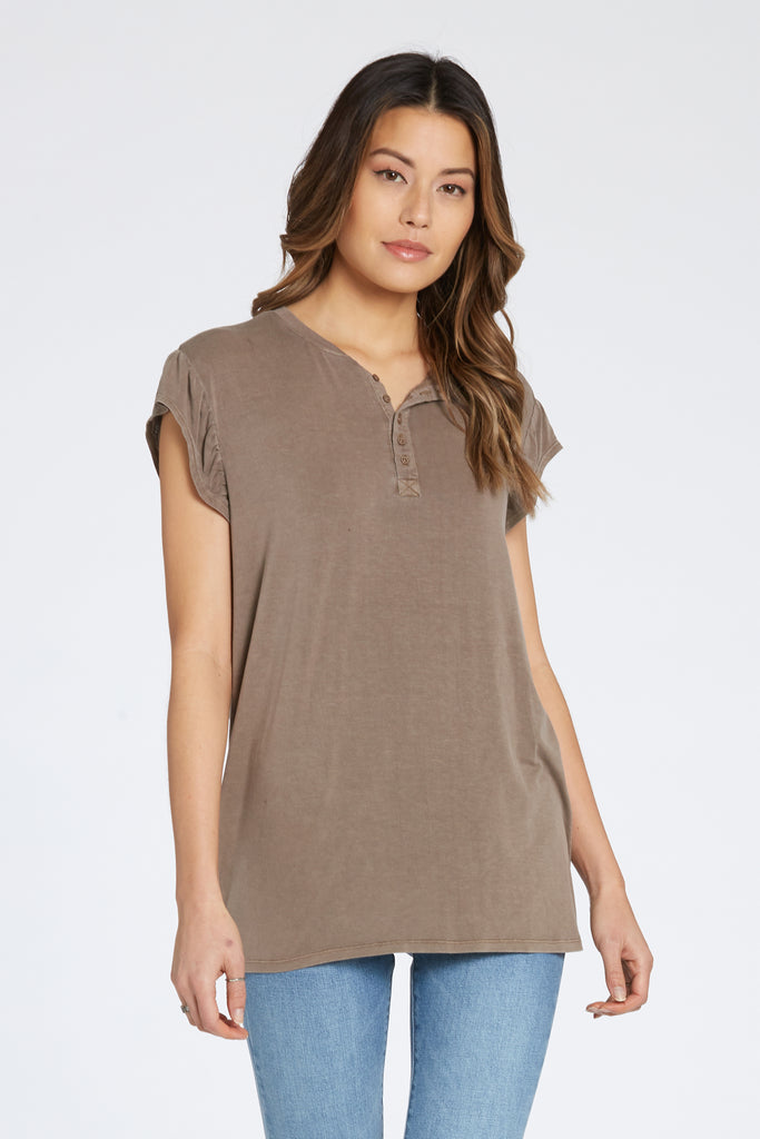 TALULLAH SHIRT IN HAZELWOOD