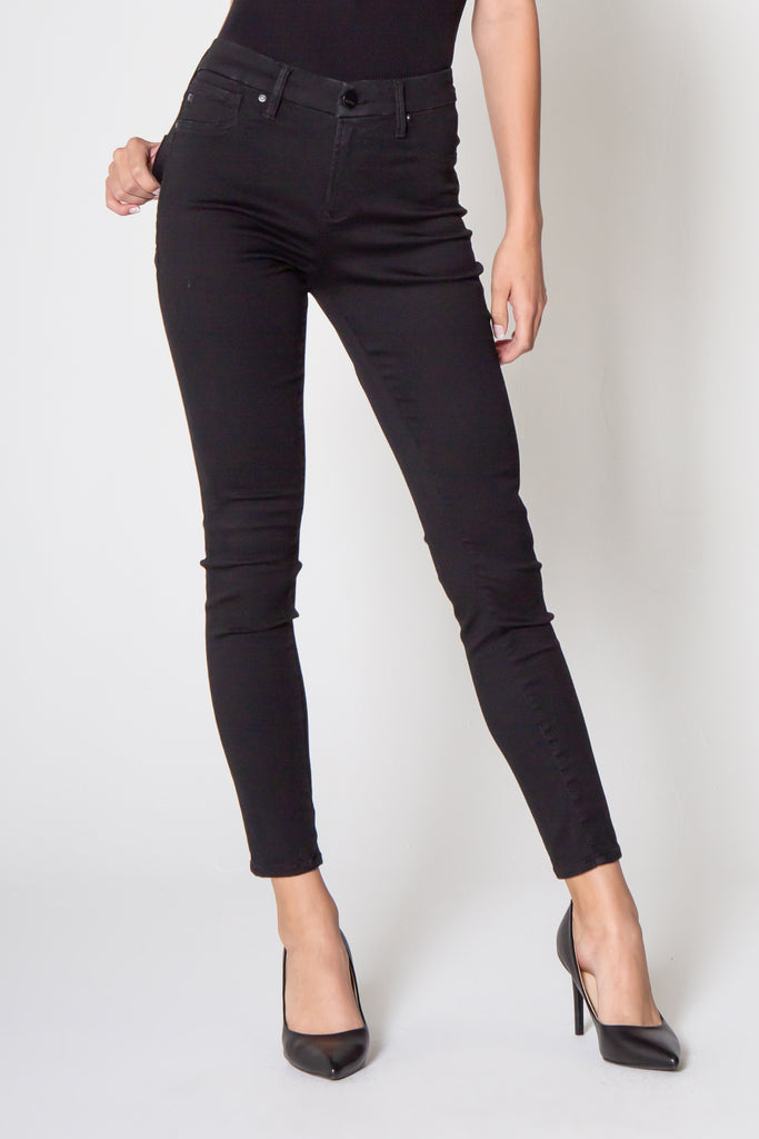 "9 1/2"" STACI HIGH RISE LEGGING IN BLACK"