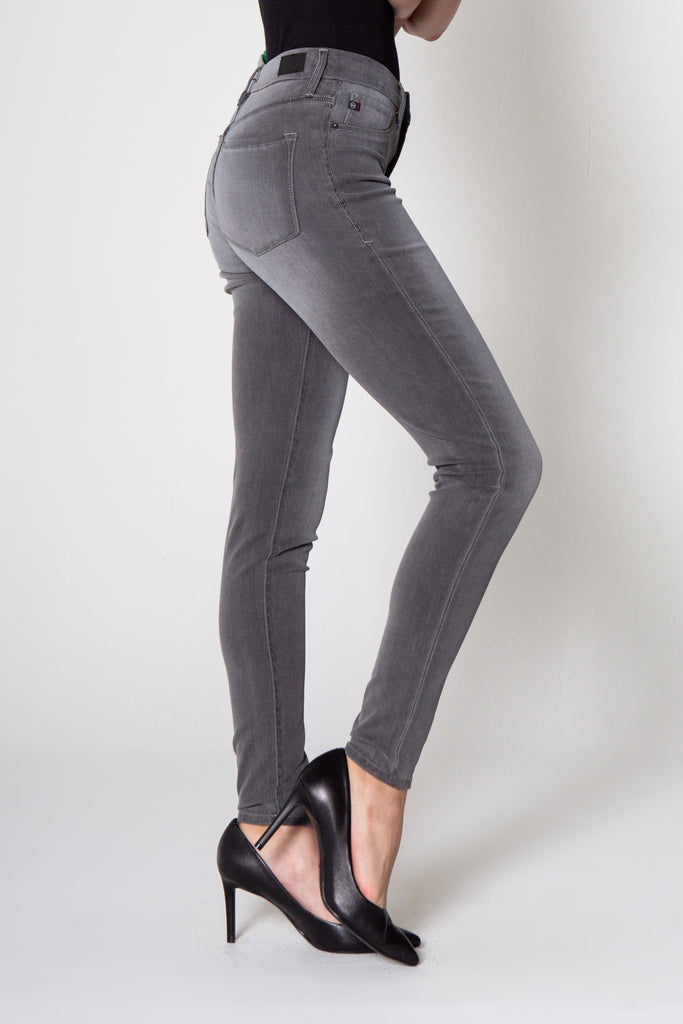 "9 1/2"" STACI HIGH RISE LEGGING IN GRAPHITE"