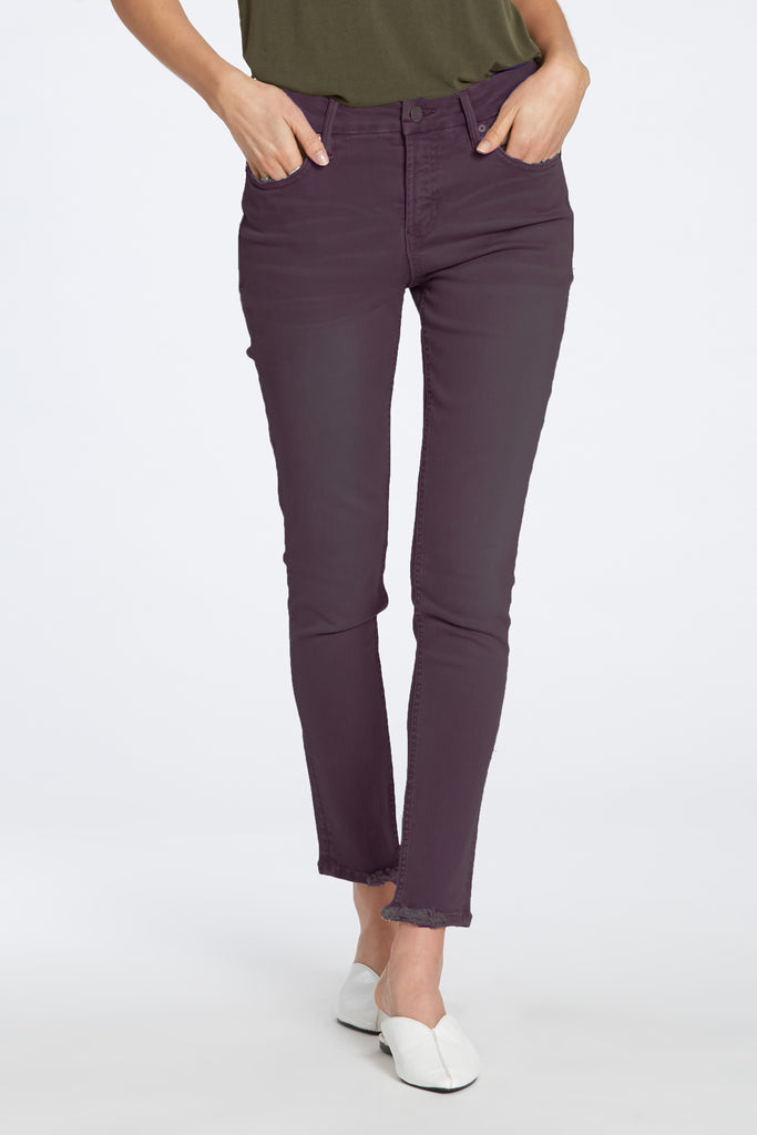 "9 1/2"" HIGH RISE GISELE JEANS IN SYRAH"