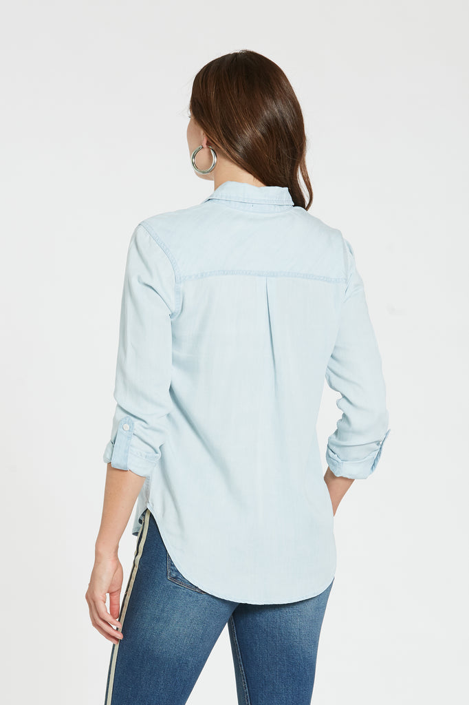 SOPHIA TOP IN PERFECT BLUE