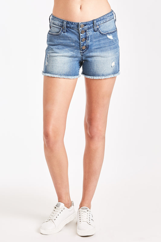 MELISSA BUTTON FRONT SHORT PENNY