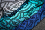 Yaro Braid Aqua Grad Black Wool