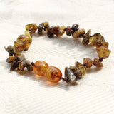 Baltic Amber Baby Anklet