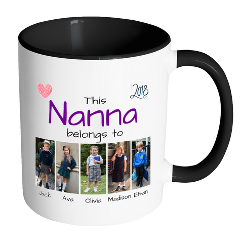 Mug - This Nanna belongs to (CUSTOM)