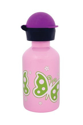 Cheeki 350ml Kids Water Bottle - Butterfly