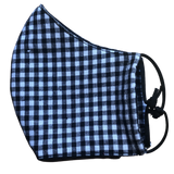 Pocket face mask - Gingham