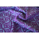 Yaro Retro Berry Purple Mint Tencel Ring Sling