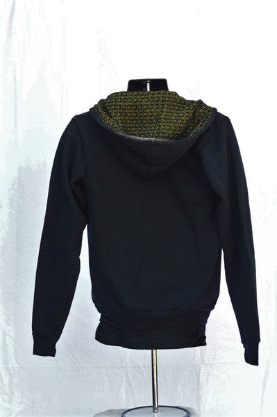 Black and Green Hatta Hoodie